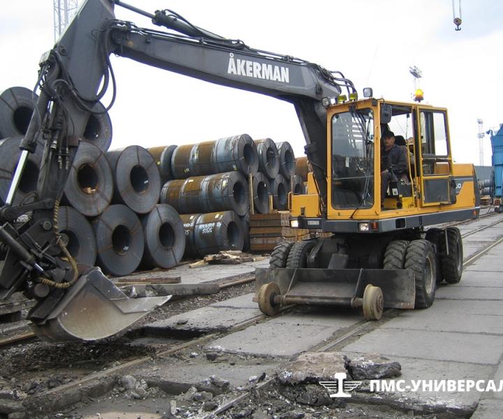 Капитальный ремонт железнодорожных путей ЗАО «Нева Металл», 2005 г.