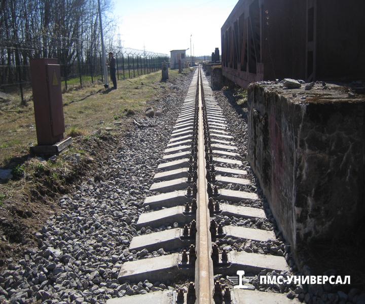 Капитальный ремонт кранового пути (Длина каждой нити 580 метров) ОАО «ТГК-1» ГЭС-13, 2014 г.