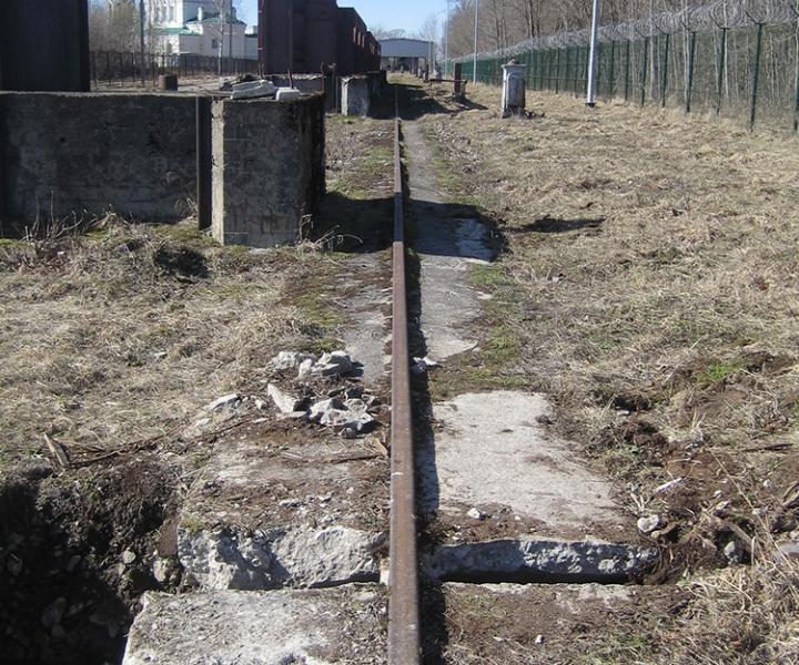 Капитальный ремонт кранового пути (Путь на железобетонной монолитной балке, исходное состояние ОАО «ТГК-1» ГЭС-13, 2014г.