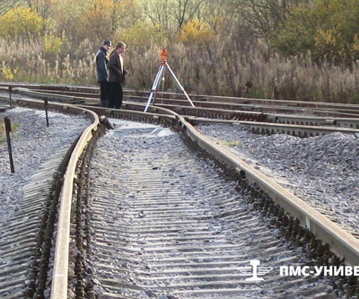Геодезические работы для подготовки документации под выправку пути Балтнефтепровод, 2006 г.