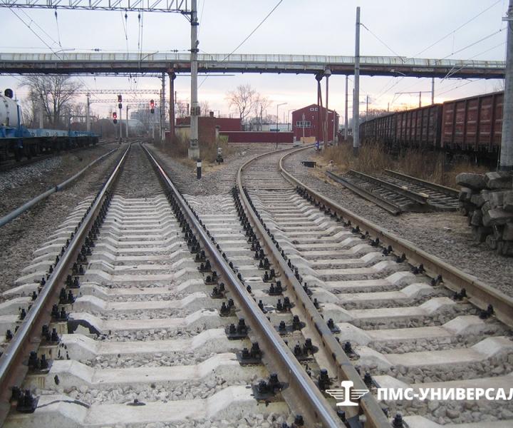 Путь ЭЧ-4, ст. Нарвская (Октябрьская железная дорога), 2009 г.