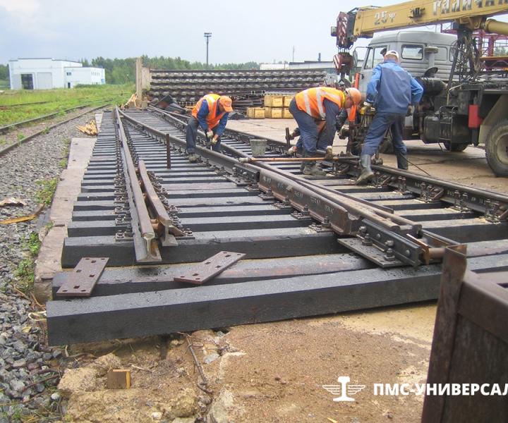 Строительство железной дороги на ЛАЭС, 2011 г.