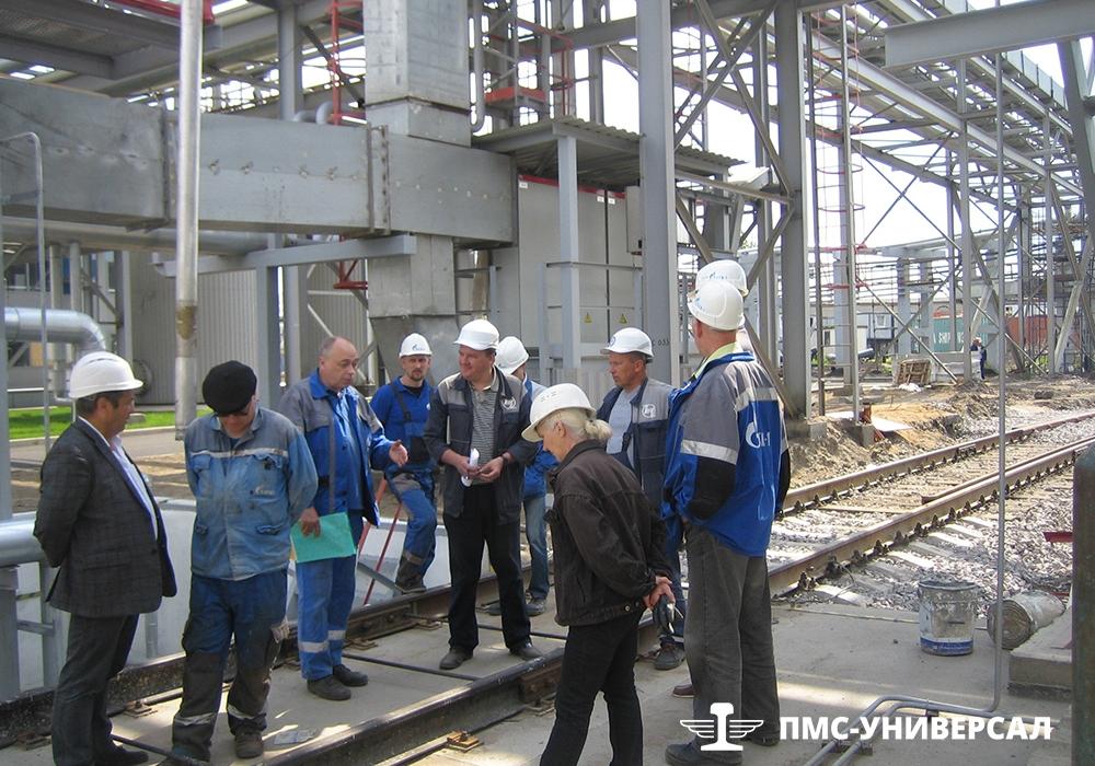 Строительство железнодорожного пути (Рабочая комиссия) ОАО «ТГК-1» ТЭЦ-14, 2015 г.