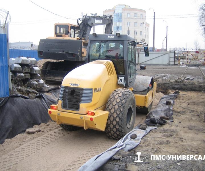 Строительство железнодорожного пути (Отсыпка земляного полотна) ОАО «ТГК-1» ТЭЦ-14, 2015 г.