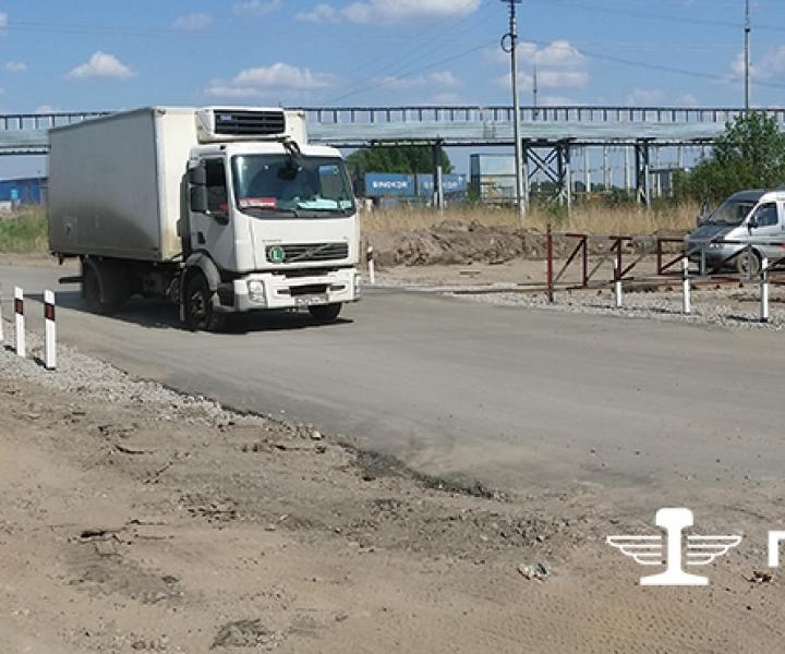 Капитальный ремонт переезда ООО «МЛП КАД», 2013 г.